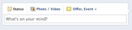 New Facebook offer link