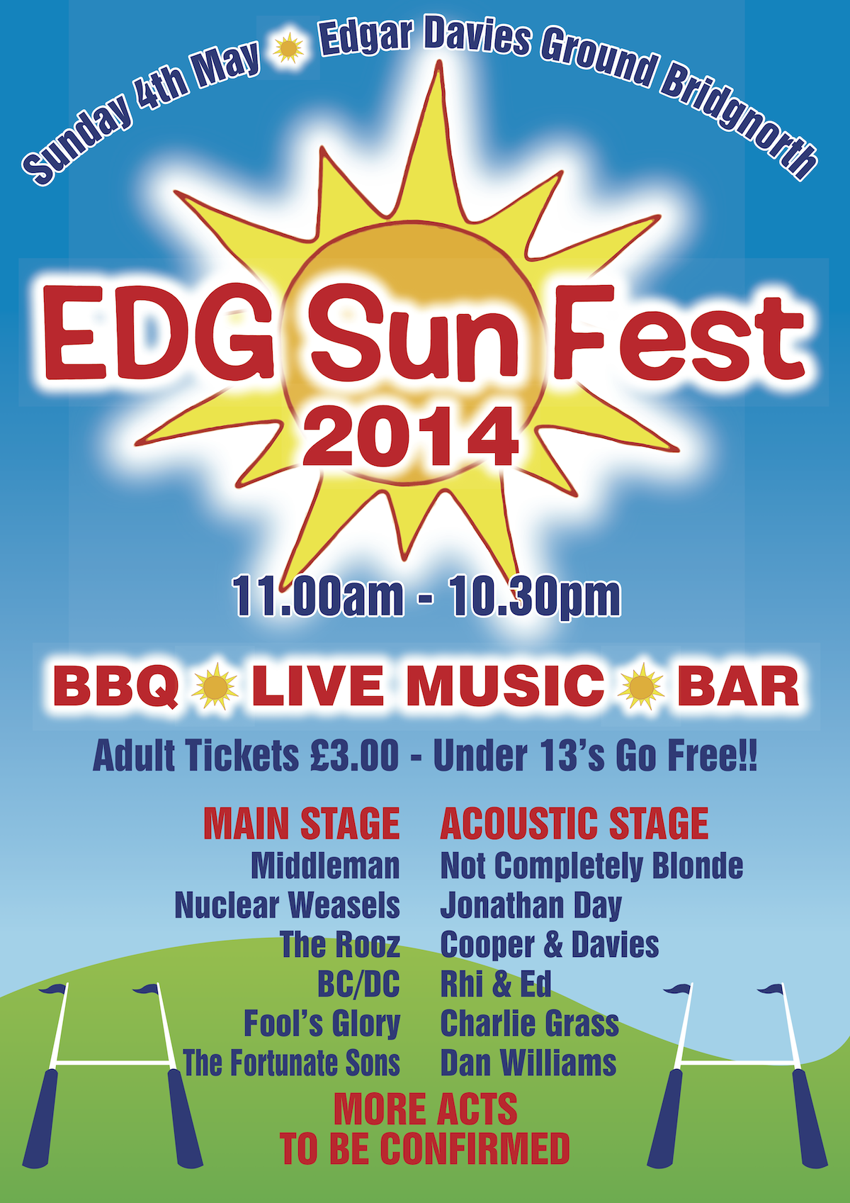 EDG Sun Fest May 4th 2014